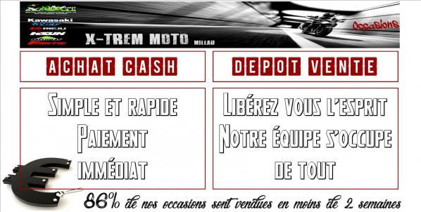 Achat cash depot vente xtrem moto bandeaux