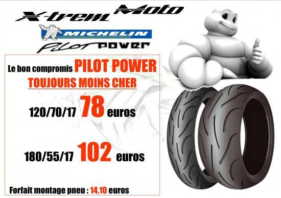Promotion michelin pilot power